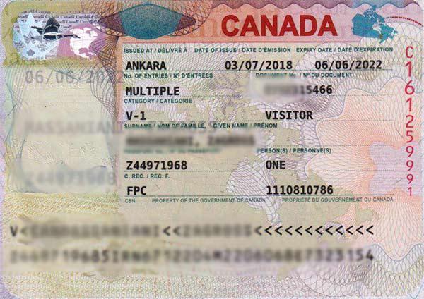 ثبت نام آنلاین ویزای کانادا
