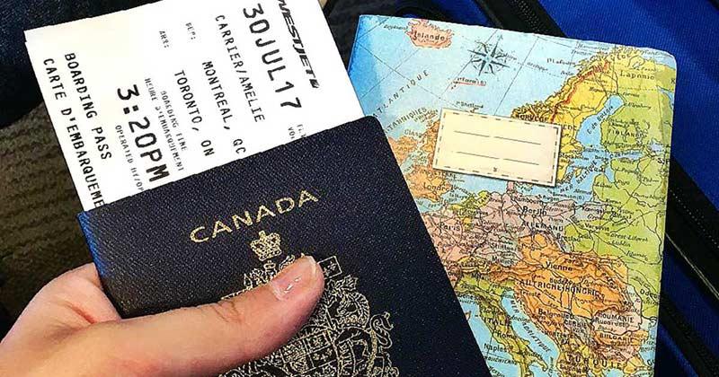 مدارک مورد نیاز برای انجام انگشت نگاری سفارت کانادا
